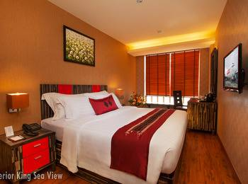 Lion Hotel & Plaza Manado - Superior King Sea View Room Only Regular Plan