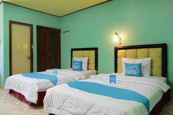Airy Eco Syariah HM Bafadhal Sungai Asam Jambi - Deluxe Twin Room with Breakfast Special Promo Mar 5