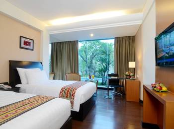 Emersia Hotel Lampung - Executive Pool View Twin Bed Room Only / No Breakfast  Last Minute Deal