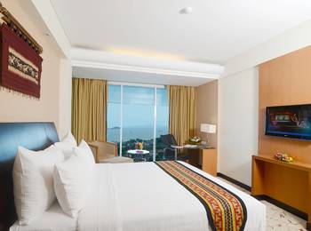 Emersia Hotel Lampung - Executive Pool View King Bed Room Only / No Breakfast  Regular Plan