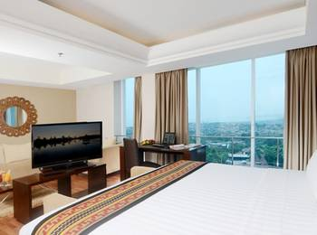 Emersia Hotel Lampung - Junior Suite Ocean View King Bed  Regular Plan