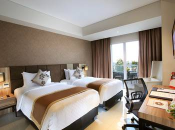 Swiss-Belinn Karawang Karawang - Superior Twin Balcony Single Occupancy