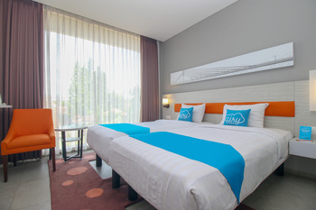 Airy Pasteur Topas Galeria Bandung Bandung - Deluxe Twin Room Only Special Promo 12