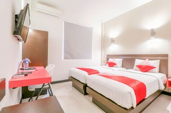 OYO 1675 Fortune Hotel Lombok - Standard Twin Room Regular Plan