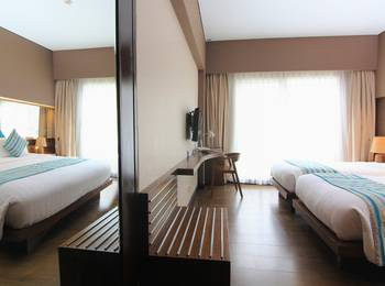 Grand Ixora Kuta Resort Bali - Interconnecting Superior Double & Twin Room Only Regular Plan