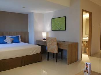 Grand Tropic Jakarta - Kamar premier renovasi terbaru Regular Plan