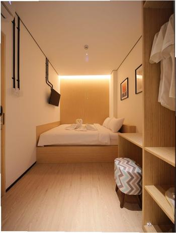 Cool Living Jakarta - Deluxe Double Room Breakfast Regular Plan