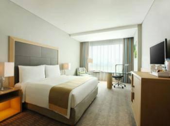 Holiday Inn Kemayoran Jakarta - Kamar, 1 Tempat Tidur King, non-smoking, dengan pemandangan (Panorama) Regular Plan