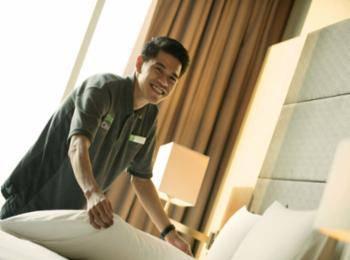 Holiday Inn Kemayoran Jakarta - Kamar, 1 tempat tidur king, dengan pemandangan (Panorama) Regular Plan