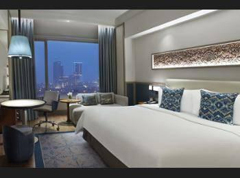 Shangri-la Surabaya - Horizon Club, Kamar, 1 Tempat Tidur King Regular Plan