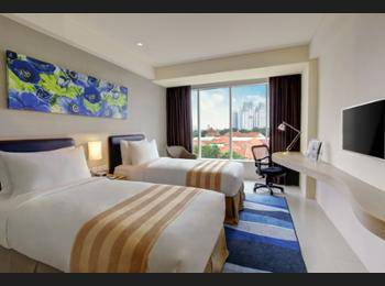 Holiday Inn Express Jakarta International Expo - Standard Room, 2 Twin Beds, Non Smoking Regular Plan