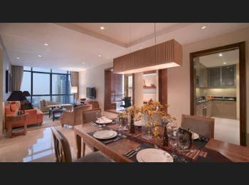 Oakwood Premier Cozmo Jakarta - Three-Bedroom Deluxe Apartment Regular Plan