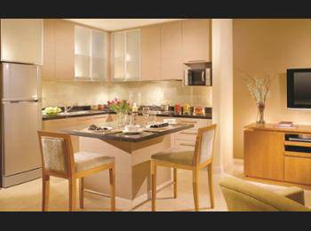 Oakwood Premier Cozmo Jakarta - One-Bedroom Deluxe Apartment Regular Plan