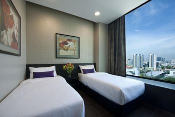V Hotel Lavender - Superior Twin with City View NC Hemat 5%