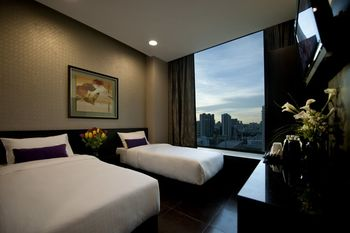 V Hotel Lavender - Superior Twin with Breakfast 2 Pax Regular Plan