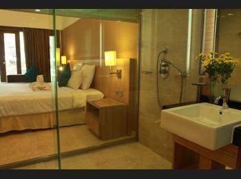 Novotel Surabaya Hotel & Suites Surabaya - Kamar Superior, 2 Tempat Tidur Twin, pemandangan kolam renang Regular Plan