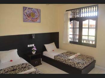 Beneyasa Beach Inn 1 Kuta - Standard Fan Double Hemat 50%