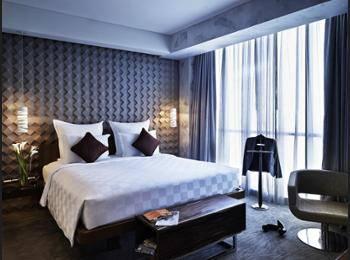Pullman Jakarta Central Park - Kamar Deluks, 1 Tempat Tidur Queen Regular Plan
