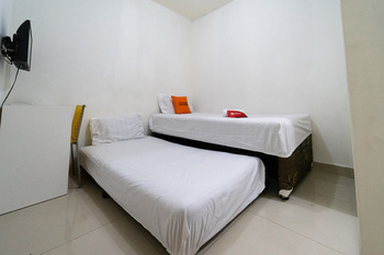 KoolKost near Mercu Buana University Jakarta - KoolKost Twin Room Minimum Stay Promotion