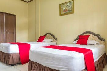 RedDoorz @ Antapani Bandung - RedDoorz Twin Room Regular Plan