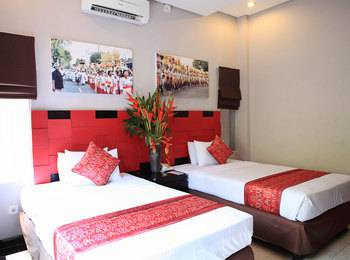 Legian Village Hotel Bali - Deluxe Room Only Special Offer 50% OFF