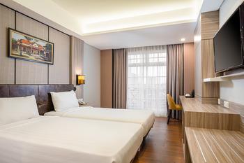 eL Hotel Royale Yogyakarta Malioboro Jogja - Deluxe Twin Room Only Regular Plan