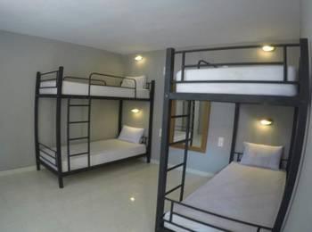 Kuta Beach Hostel Bali - Dormitory Mix Room Khusus Wanita  Harga Untuk 1 Orang Regular Plan
