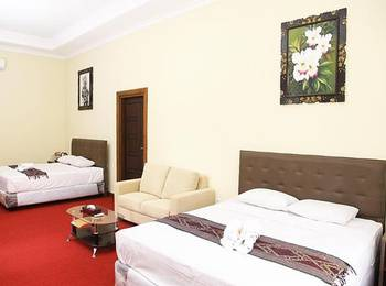 Ubud Cottages Malang Malang - Deluxe Family Regular Plan