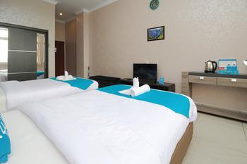 Airy Medan Baru Mataram 21 - Standard Twin Room Only Special Promo Jan 5