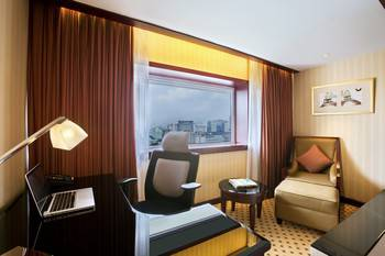 Hotel Borobudur Jakarta - Premiere Deluxe Twin Room Only Regular Plan