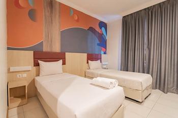RedDoorz @ Hotel Arimbi Baru Dewi Sartika Bandung - RedDoorz Deluxe Room AntiBoros