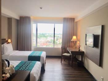 Swiss-Belhotel Pangkalpinang Bangka - Grand Deluxe Twin Room Only Regular Plan