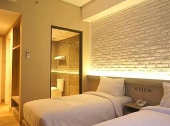 Expressia Hotel Makassar - Standard Twin No View (Non Smoking Room) Hot Deal Promo !!