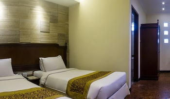 Puteri Gunung Hotel Lembang - Deluxe Garden Twin Bed Regular Plan