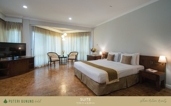 Puteri Gunung Hotel Lembang - Suite Room Regular Plan