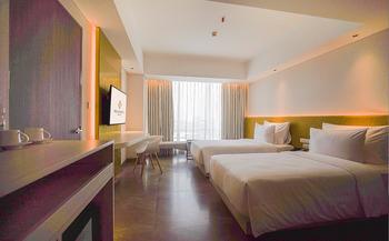 Nuanza Hotel & Convention Cikarang Bekasi - Deluxe Twin Room Regular Plan