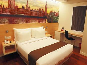 Citihub Hotel at Pecindilan Surabaya - Nano Room 2Person Regular Plan
