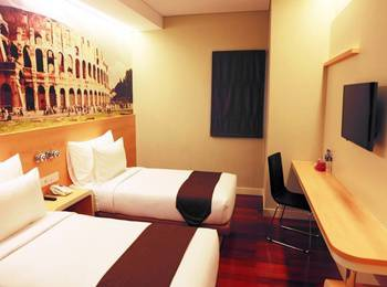 Citihub Hotel at Pecindilan Surabaya - Standart Twin Regular Plan
