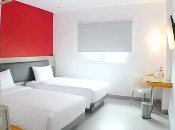 Amaris Hotel Setiabudhi Bandung - Smart Room Twin Promotion  Regular Plan