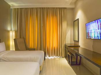 Grand Ardjuna Bandung - Deluxe Twin Room Only Stay Longer