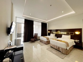 Batam Harbour Boutique Hotel & Spa Batam - Deluxe Balcony Twin Room Only FC Gajian