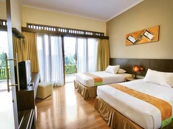 The Green Forest Resort Bandung - Superior Room Only Promosi hanya kamar