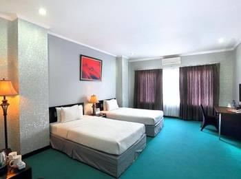 Surya Yudha Park Banjarnegara - Deluxe Twin Room Regular Plan