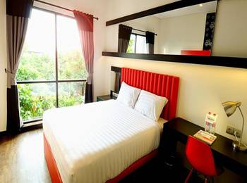 Tune Hotel Yogyakarta - Double Bedroom - Room Only Regular Plan
