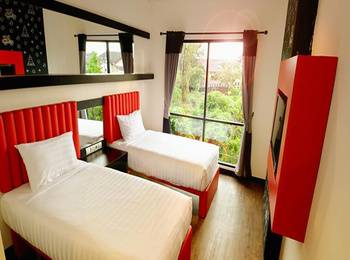 Tune Hotel Yogyakarta - Twin Room - with Breakfast Regular Plan