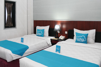Airy Denpasar Utara Gatot Subroto Bedahulu Tujuh Bali - Deluxe Twin Room Only Special Promo Nov 52