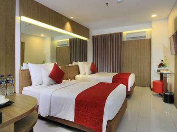 West Point Hotel Bandung - Deluxe Twin Regular Plan