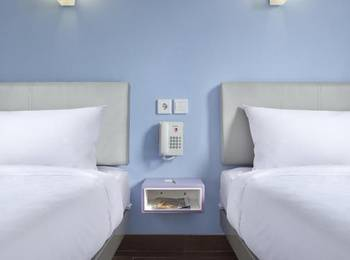 Amaris Hotel Sagan - Smart Room Twin Promotion 2020 Regular Plan