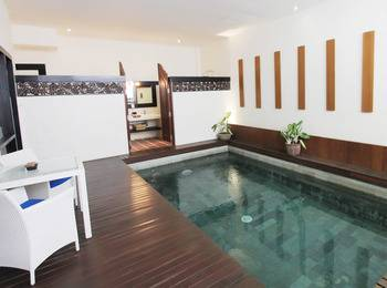 Marbella Pool Suites Seminyak - 1 Bedroom Suite With Private Pool  Regular Plan