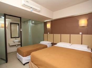 Hotel Sanur Agung Bali - Deluxe Triple Room Only Regular Plan